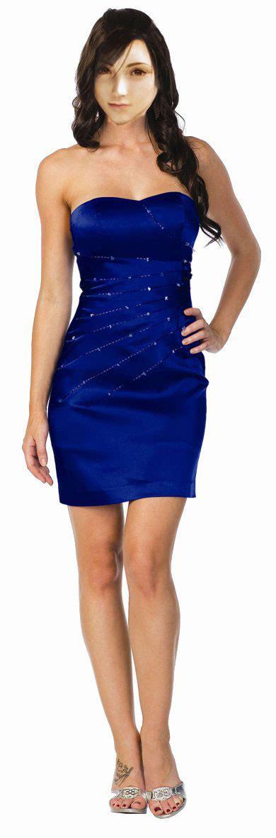 Tifa Blous tifa blue dress by stellalockheart on deviantart
