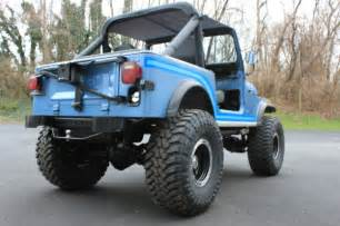 Where Is The Jeep Renegade Built by Build 1985 Amc Jeep Cj7 Renegade 4x4