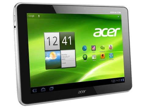 android tablet update acer update auf android 4 0 ics f 252 r tablets iconia tab a100 und a500 notebookcheck news