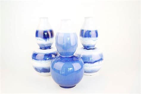 Blue Ceramic Vase Blue Amp White Ceramic Vases Studio 77 Home Design
