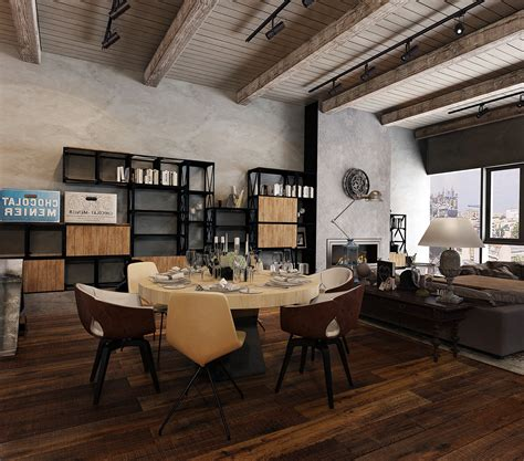 Industrial Office Design Ideas Industrial Look Office Interior Design Intended For Industrial Office Design This For All