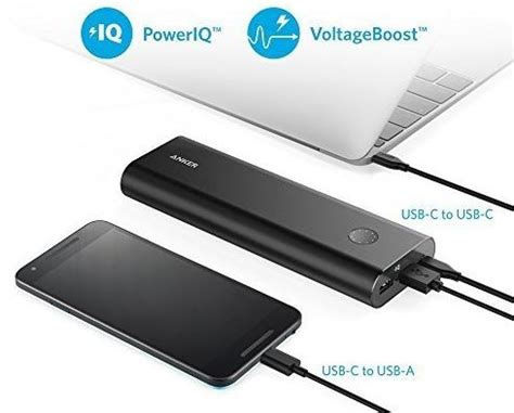 Anker Powercore 20100 Power Bank 20000 Mah 48a Output Poweriq best portable power bank battery pack chargers for 2017 2018 techy