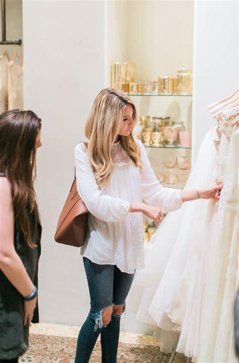 dress shopping wedding dress shopping with bhldn