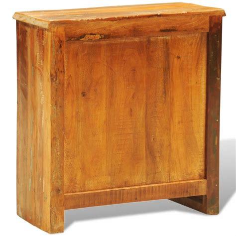 armadietto legno armadietto in legno anticato con due porte stile antico