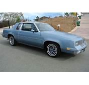 1985 Oldsmobile Cutlass Supreme In El Cajon CA  1 Owner