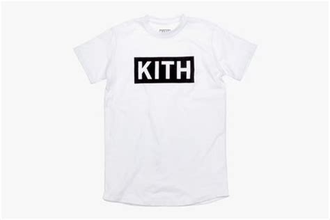 Kith White T Shirt kith box logo what drops now