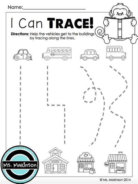 Motor Tracing Worksheets by 30 Best Images About Preschool Tracing Worksheets On