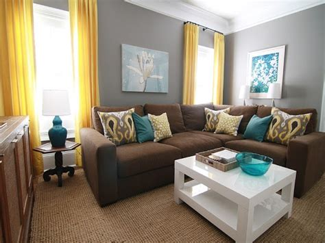 brown and teal living room teal brown and yellow living room living room