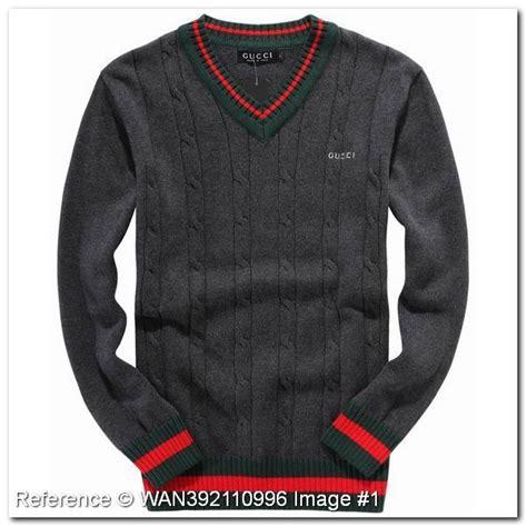Promo Promo Termurah Dress Gucci V file wholesale discount gucci sweater v neck gray color hb296ha gucci sweaters gucci