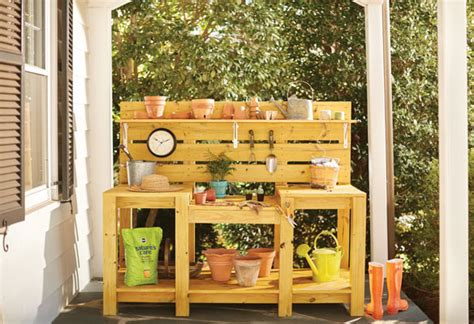 potting benches home depot 7 of the most popular garden club trends from pinterest