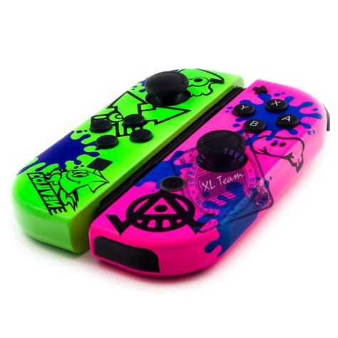 Nintendo Switch Con Cover Splatoon 2 Type A custom splatoon 2 ink themed nintendo switch con joycon