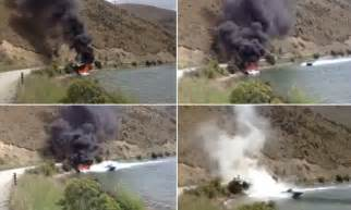 speed boat viral video one way to put out a fire viral video shows speedboat in