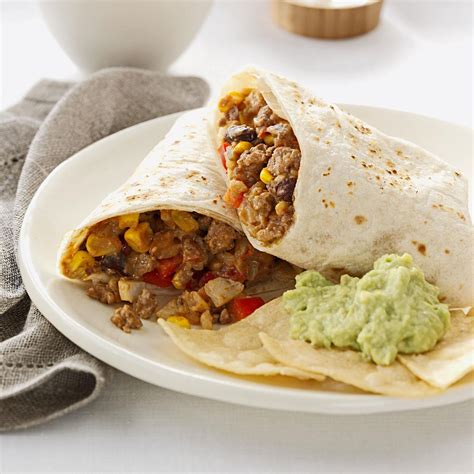 Todays Special Chicken And Goat Cheese Burritos by Cheese Beef Burritos Recipe Taste Of Home