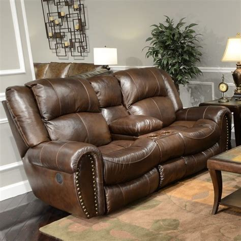 Catnapper Sofa Recliner Catnapper Sonoma Dual Reclining Leather Sofa Mjob