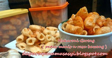 Cilok Goreng Pasundan Rasa Pedas 4 cozy kitchen makaroni goreng pedas manis dan rasa bawang