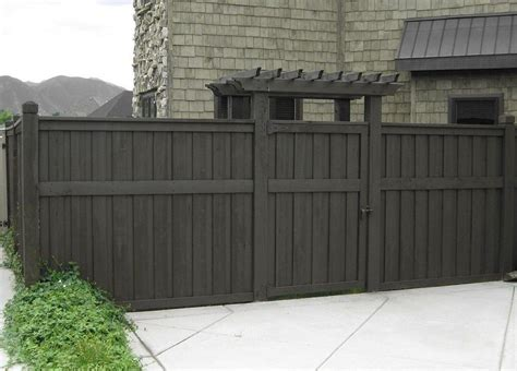 gray fence stain yard stains grey stain and fencing