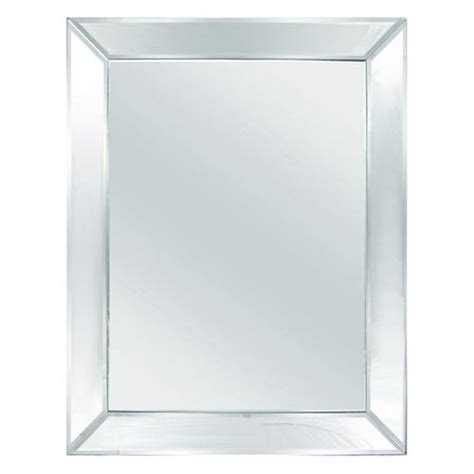 bathroom mirrors at menards tri deco 24 quot w x 36 quot h beveled mirror at menards 174