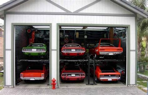 cool car garages dream garage autoholics