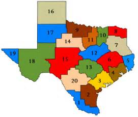 Services Tx Education Service Centers Map