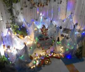 decoration ideas at home ganpati decoration ideas at home with theme decorations