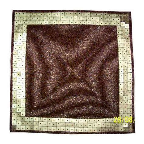 Beaded Table Mat by Beaded Table Mats Golden Borders In Asaf Ali Road New