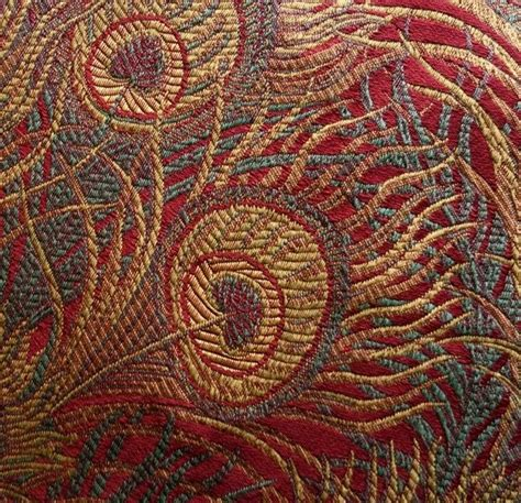 renaissance upholstery peacock tapestry upholstery fabric 5 1 8 yards 55 inch