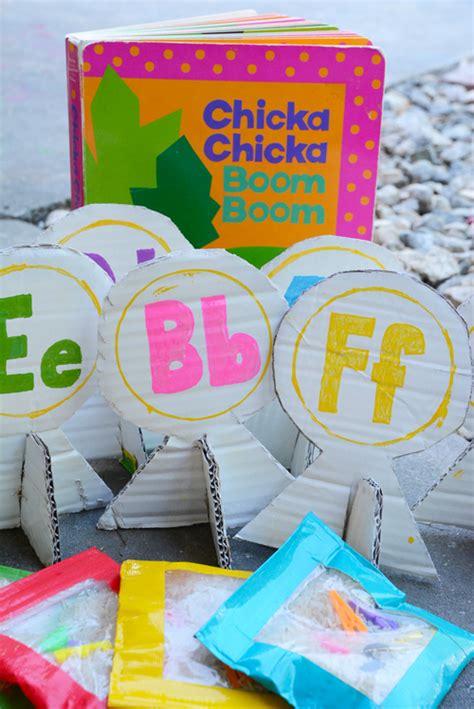 alphabet bean bags activities bookinitat50 chicka chicka boom boom alphabet bean bag toss