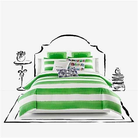 kate spade bed bath and beyond kate spade new york rugby stripe comforter set bed bath