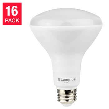 Luminus Led Gu10 Dimmable Light Bulb Luminus 174 Br30 8 W 650 Lumens 2700 K Dimmable Flood Led 16 Pack