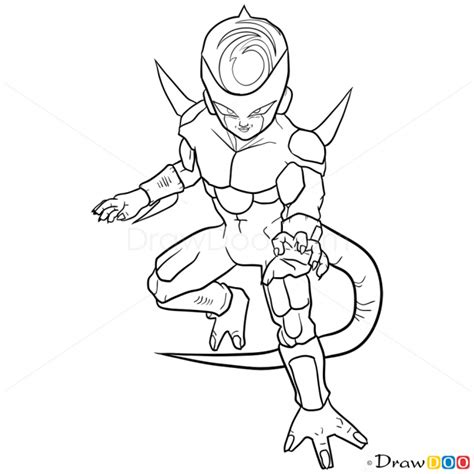 how to draw frieza dragon ball z