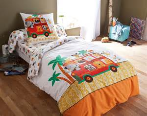 linge de lit enfant safari becquet