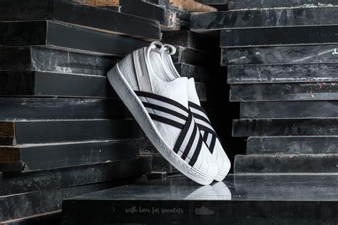 Adidas Slip On X Mountaineering Black Stripe White Premium Original 1 adidas white mountaineering superstar slip on primeknit footwear white black footwear