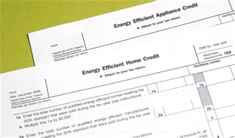 tax credit for buying a house energy efficient home tax credits mortgages