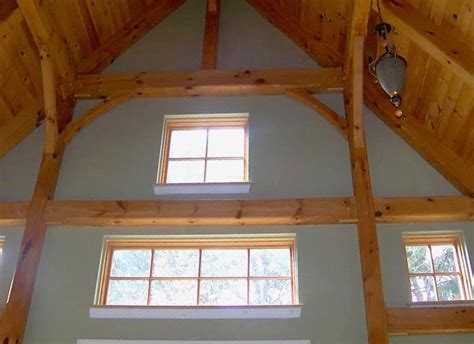 Vaulted Ceiling Energy Efficiency by Timber Frame Post And Beam Timber Frame Design Service