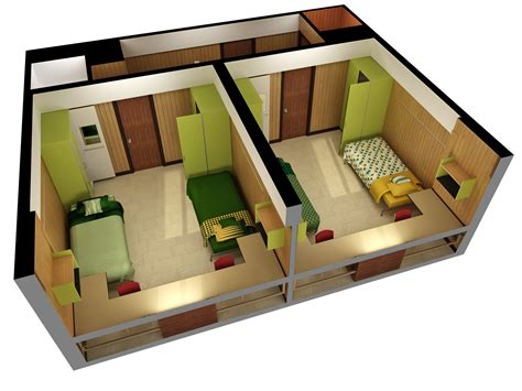 House Floor Plans Single Story by Seim Hall Residence Life Ndsu