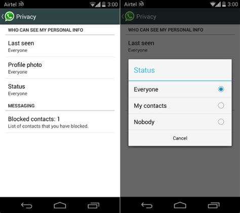 how to hide profile picture on whatsapp from strangers whatsapp for android gets new privacy features to hide