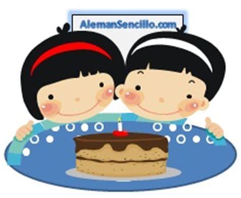 imagenes de feliz cumpleaños gemelas el cumplea 241 os feliz en alem 225 n