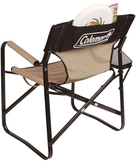 coleman steel deck chair coleman steel deck chair side table snowys outdoors