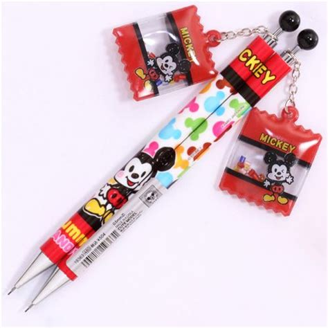 Disney Mickey Mouse Guard Mechanical Pencil white mickey mouse mechanical pencil japan pens