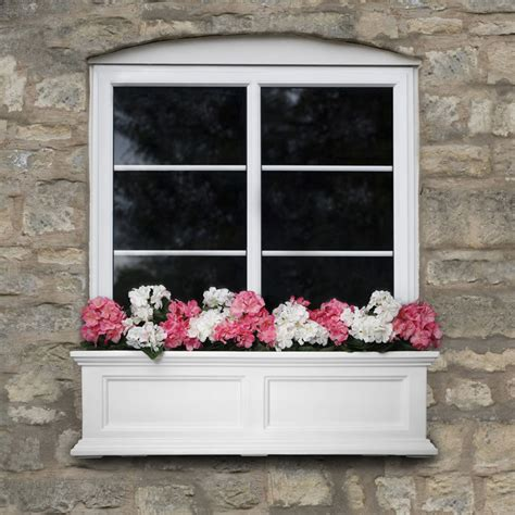 outdoor window box new mayne fairfield 36 quot window box outdoor flower planter