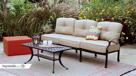 belham living harper sofa belham living palazetto cast aluminum outdoor sofa set