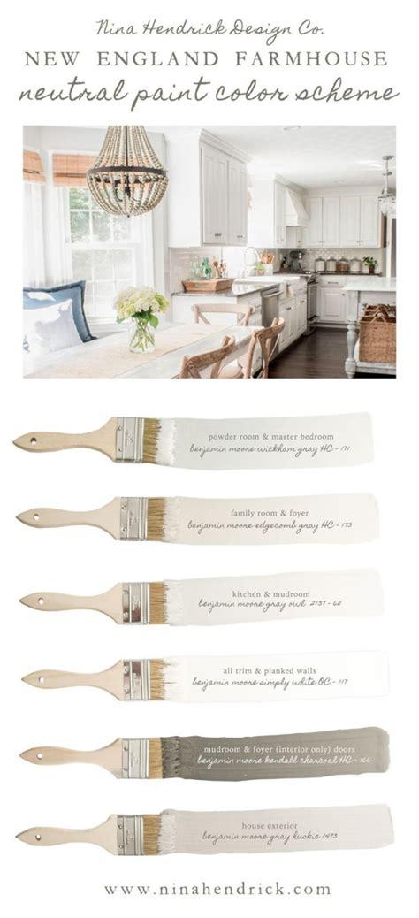 hendrick design co s new farmhouse neutral paint color scheme a neutral and