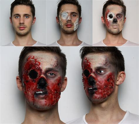 latex tutorial step by step zombie makeup tutorial for halloween