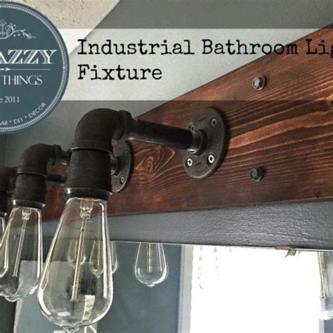 diy industrial light fixture snazzy things industrial light fixture ryobi nation projects