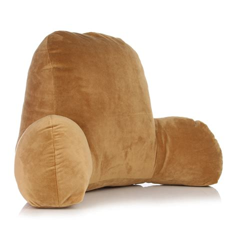 coffee lounger office bed rest back pillow support arm red coffee back spinal support pillow lounger bed rest arm