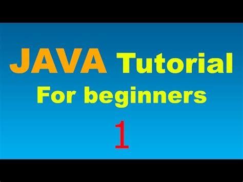 java tutorial online youtube java tutorial for beginners youtube