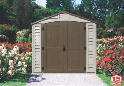 duramax   duraplus vinyl shed  foundation