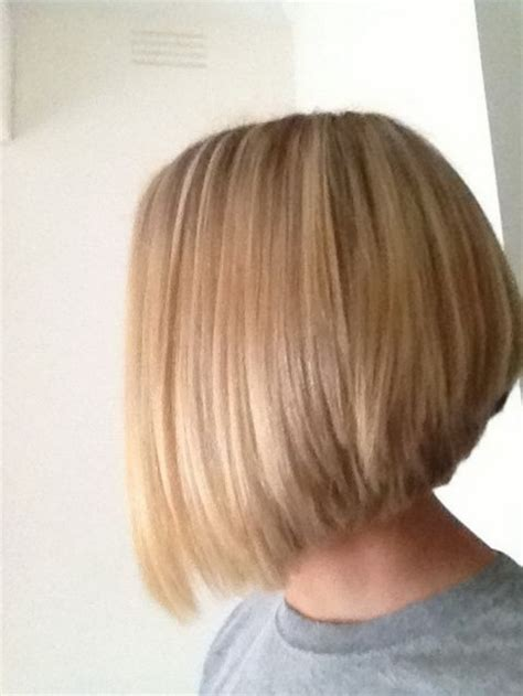 stacked shoulder length haircuts mid length stacked bobs short hairstyle 2013