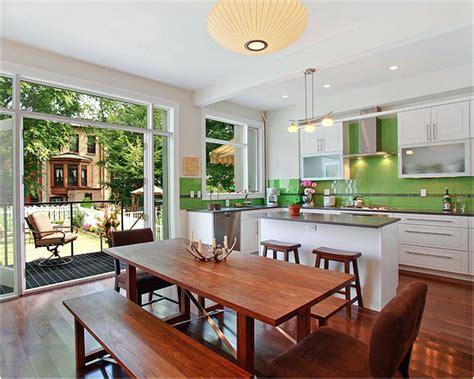 tata ruang meja makan tips desain dapur dan ruang makan jadi satu renovasi