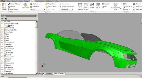 modeling  car  inventor   car autodesk